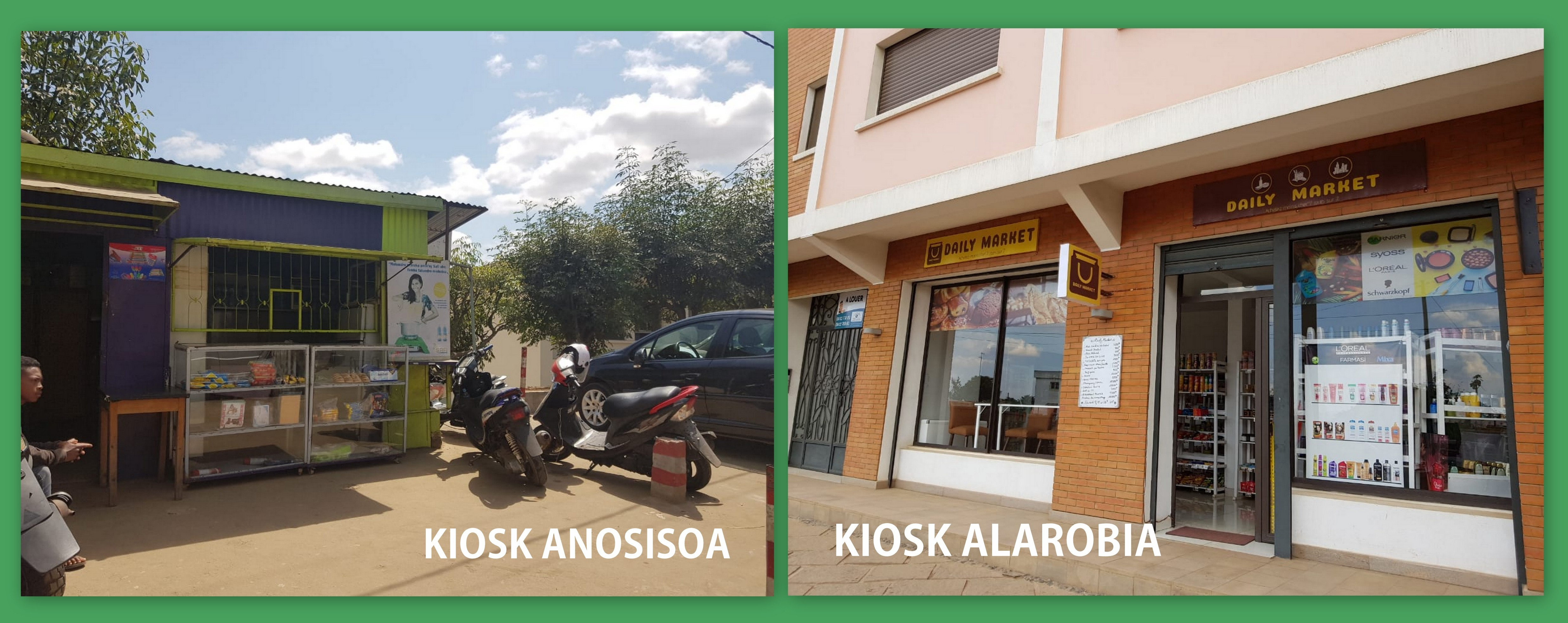 Ethanol is available in Antananarivo in two new kiosks