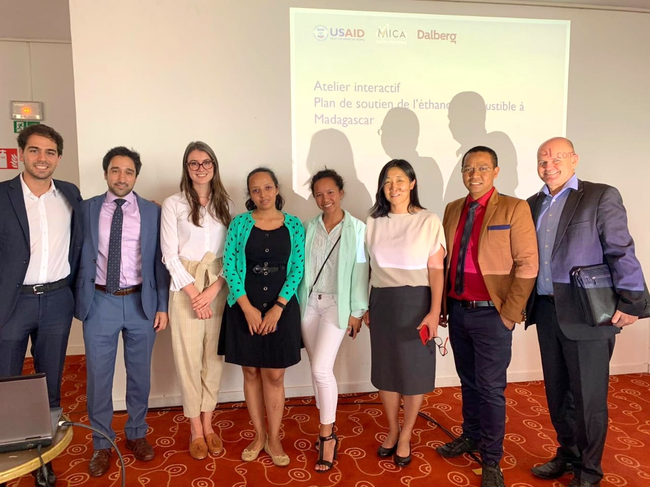 Interactive workshop for a support plan on the use of ethanol in Madagascar